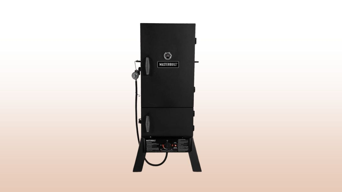 Masterbuilt 30 propane smoker isolated