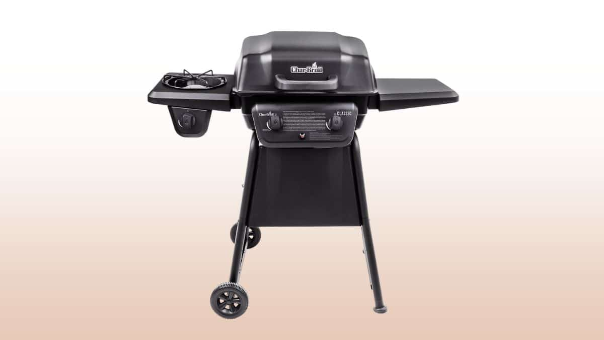 char broil 280 2 burner isolated