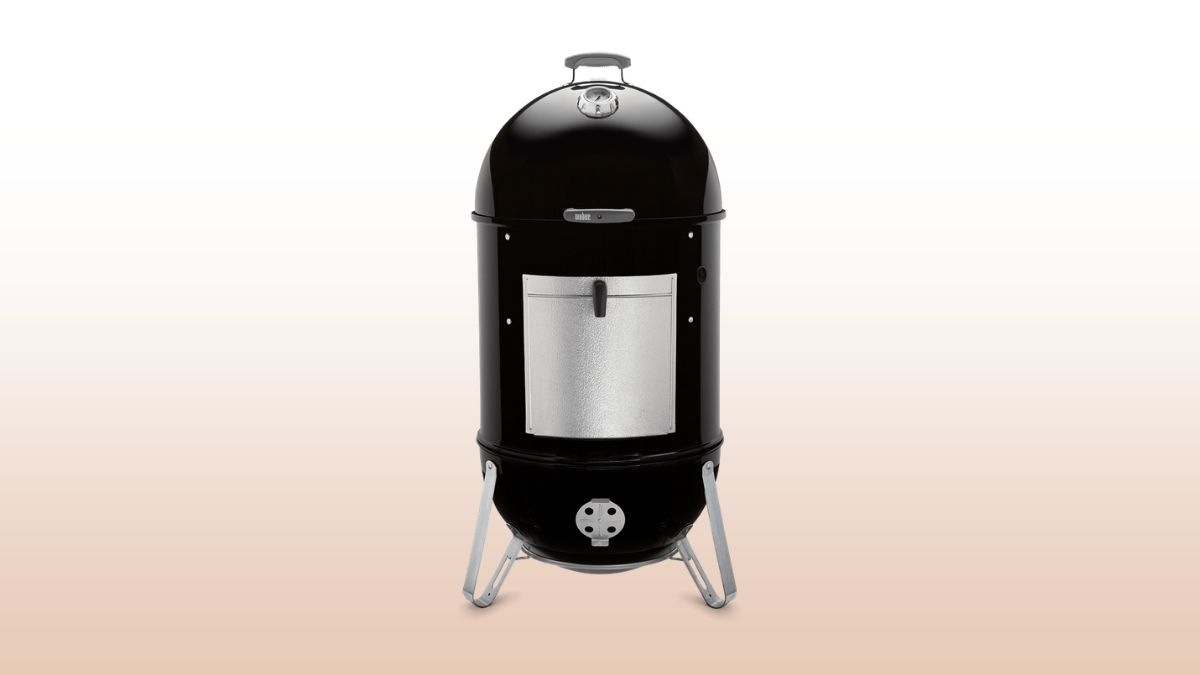 weber smokey mountain isolated